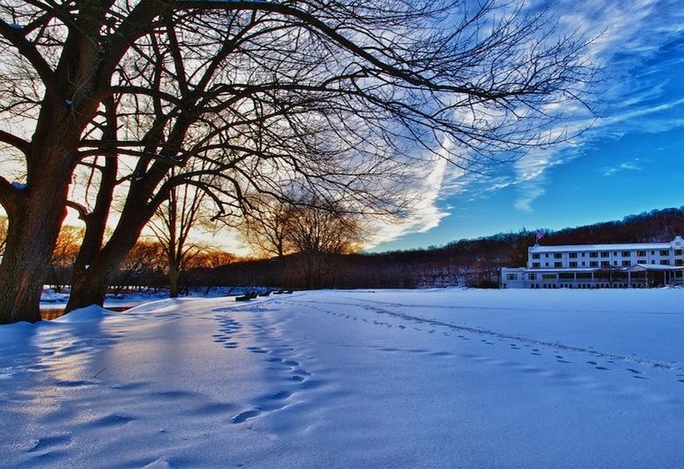 The Shawnee Inn and Golf Resort, Shawnee On Delaware, Façade de l'hôtel