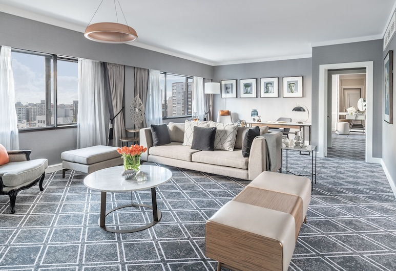 Cordis, Auckland by Langham Hospitality Group, Auckland, Suite (Chairman), Living Area