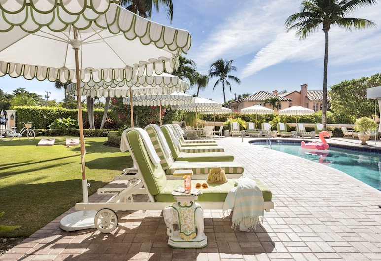 Colony Hotel Palm Beach, Palm Beach, Terraço/Pátio Interior