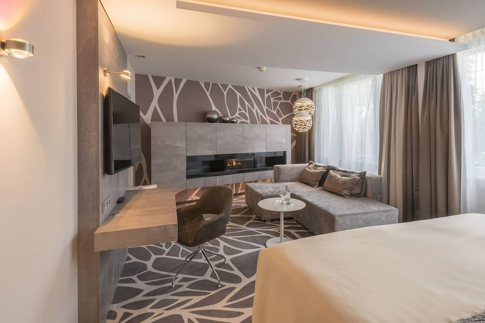 Suite, 1 cama doble, para no fumadores (Other) - Sala de estar