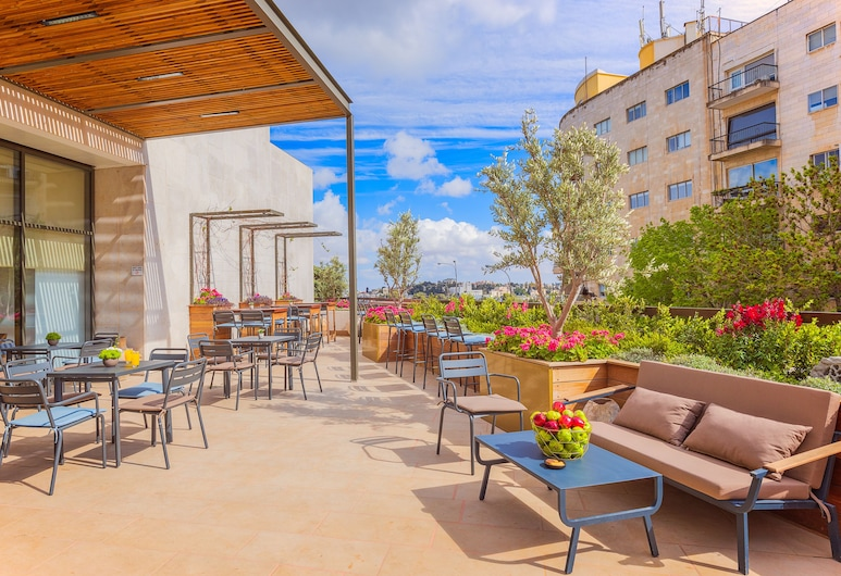 King Solomon Hotel Jerusalem, Yerusalem, Teras/Patio