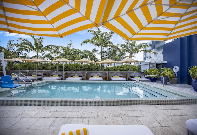 Catalina Hotel & Beach Club, a South Beach Group Hotel, Miami Beach, Pool auf dem Dach