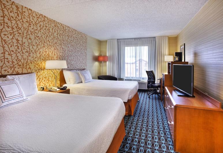 Fairfield Inn By Marriott Ann Arbor, Ann Arbor, Room, 2 Double Beds, Guest Room