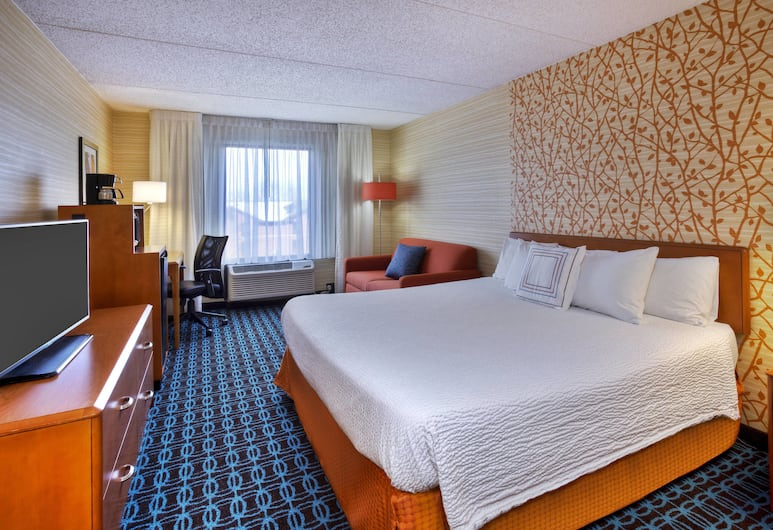 Fairfield Inn By Marriott Ann Arbor, Ann Arbor, Szoba, 1 king (extra méretű) franciaágy, Vendégszoba