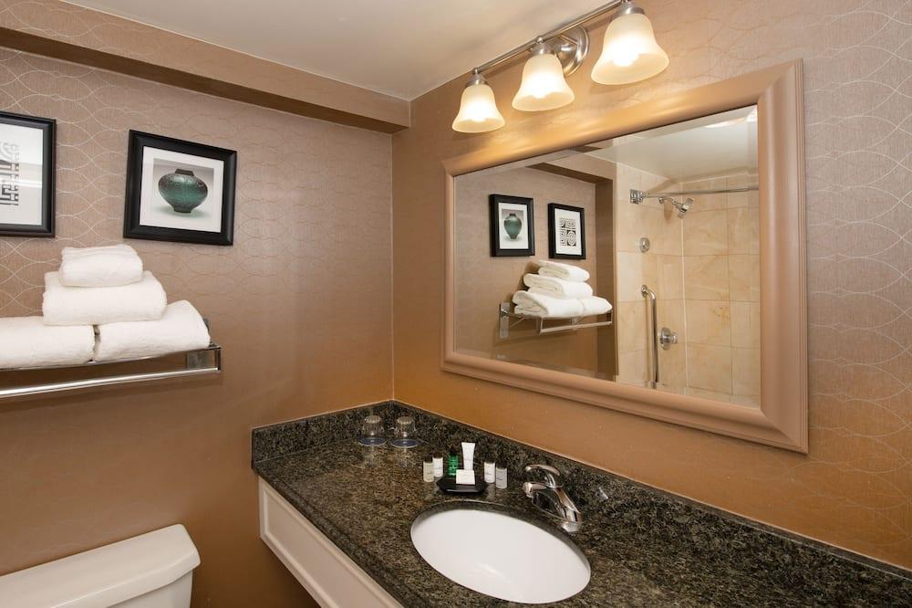 俱樂部客房, 1 張特大雙人床, 非吸煙房 - 浴室