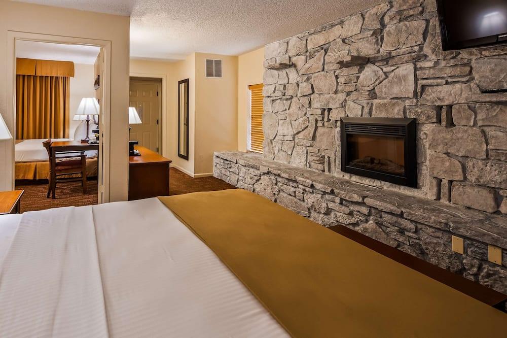 Suite, Mehrere Betten, Nichtraucher, Kühlschrank und Mikrowelle - Zimmer
