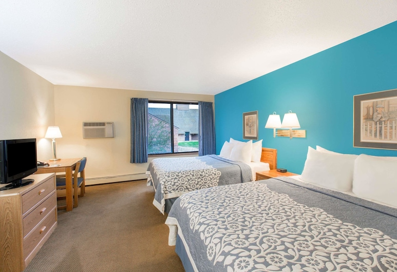 Days Inn by Wyndham Sioux Falls Empire, Sioux Falls, Zimmer, 2Queen-Betten, barrierefrei, Nichtraucher, Zimmer