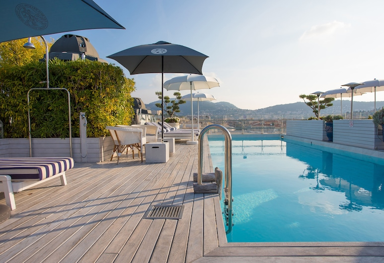 Boscolo Nice Hôtel & Spa, Nice, Rooftop Pool