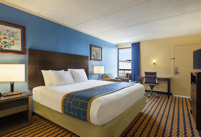 Days Inn & Suites by Wyndham Fort Bragg/Cross Creek Mall, פאייטוויל, חדר, מיטת קינג, נגישות לנכים, ללא עישון, חדר אורחים