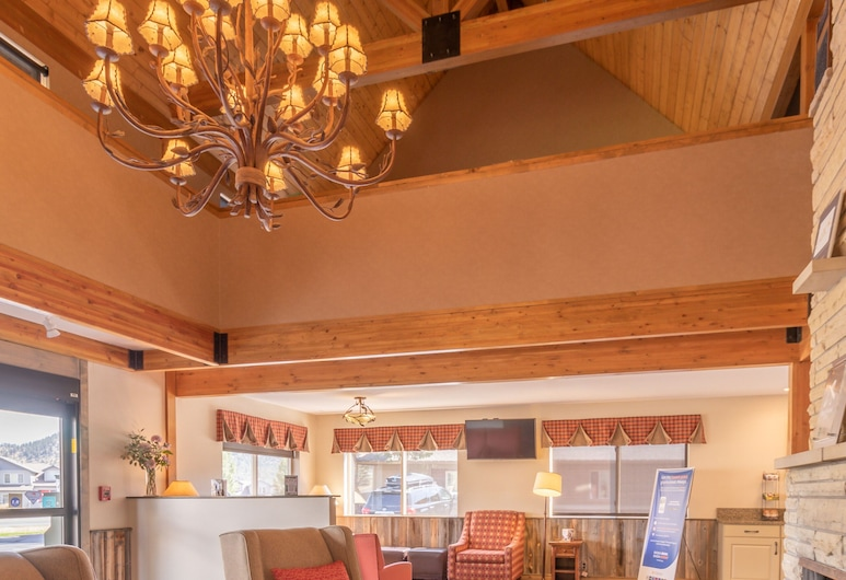Quality Inn near Rocky Mountain National Park, אסטס פארק, אזור ישיבה בלובי