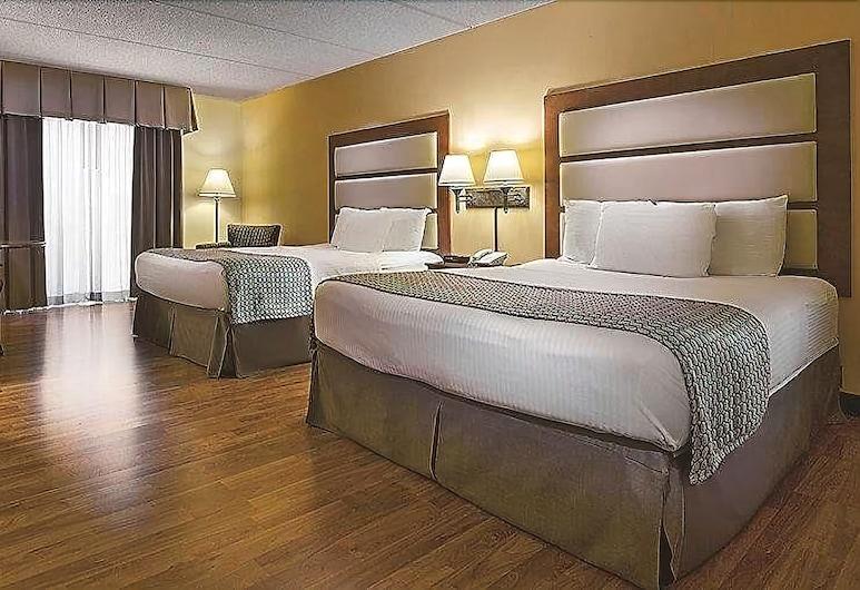 เบย์มอนท์ บายวินด์แฮม นอร์ครอส แอตแลนตา, นอร์ครอส, ห้องพัก, เตียงควีนไซส์ 2 เตียง, ปลอดบุหรี่, ห้องพัก
