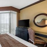 豪華客房, 1 張特大雙人床 - 城市景觀
