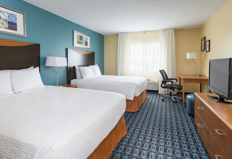 Fairfield Inn & Suites Jackson, Jackson, Habitación, 2 camas Queen size, para no fumadores, Habitación