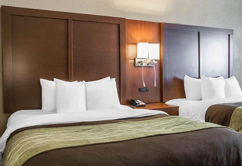 Comfort Inn Fergus Falls, Фергюс-Фоллз, Номер-люкс, 2 ліжка «квін-сайз», для некурців, Номер