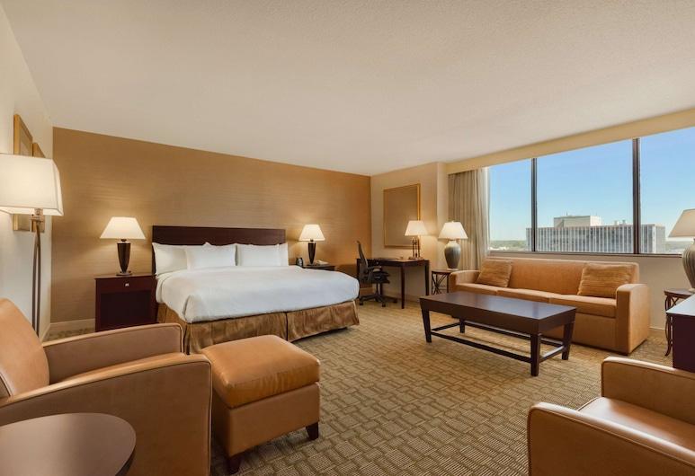 Hilton Fort Wayne at the Grand Wayne Convention Center, Fort Wayne, Soba, 1 king size krevet, pristup za osobe s invalidnošću, kada (Mobility & Hearing), Soba za goste