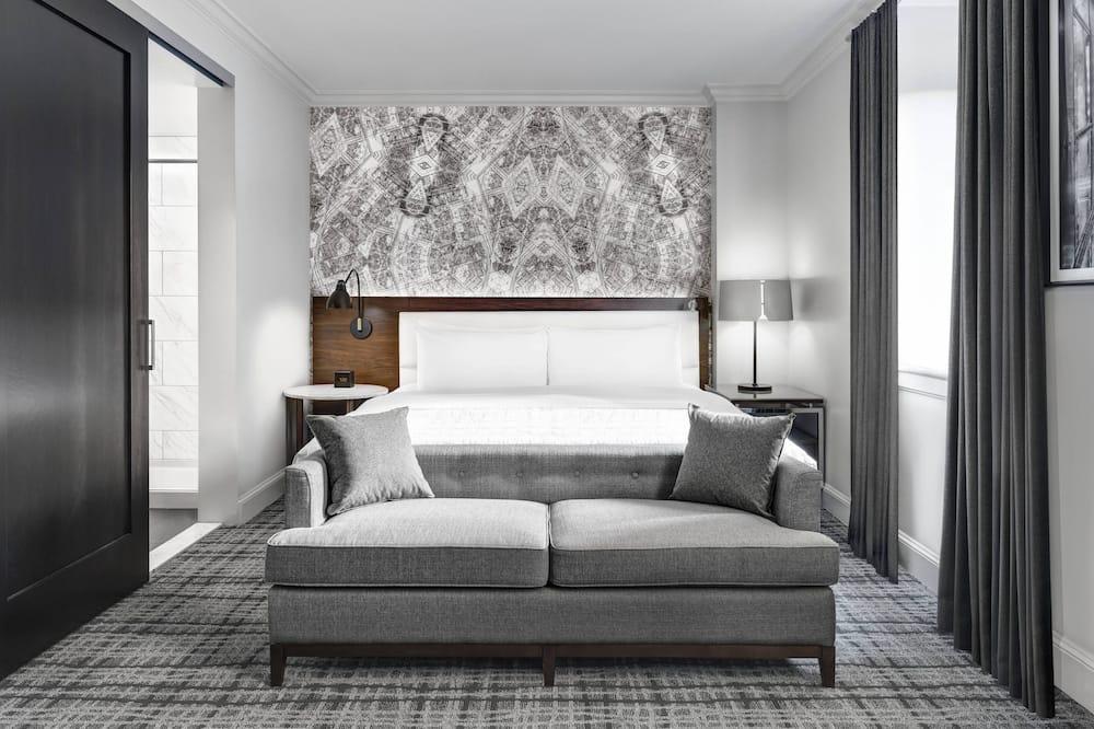 חדר דה-לוקס, מיטת קינג, ללא עישון - חדר אורחים