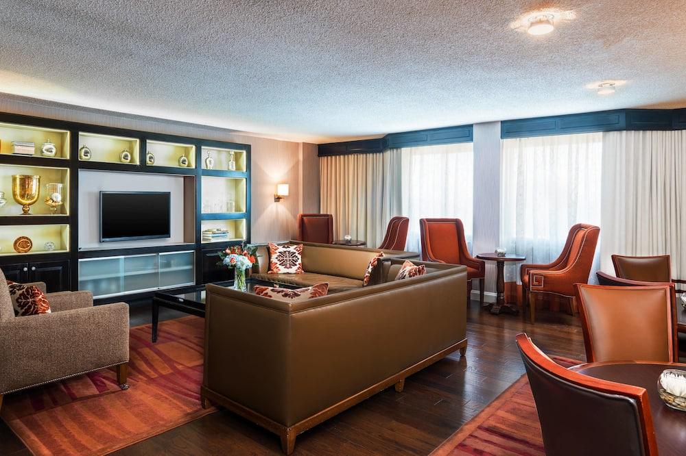 Club-Zimmer, 1King-Bett, Nichtraucher (Club level) - Wohnbereich