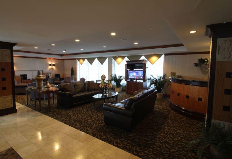 Gateway Hotel Dallas, Dallas, Sitzecke in der Lobby