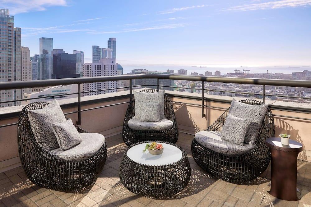Suite presidencial, 1 cama King size, para no fumadores, balcón - Habitación