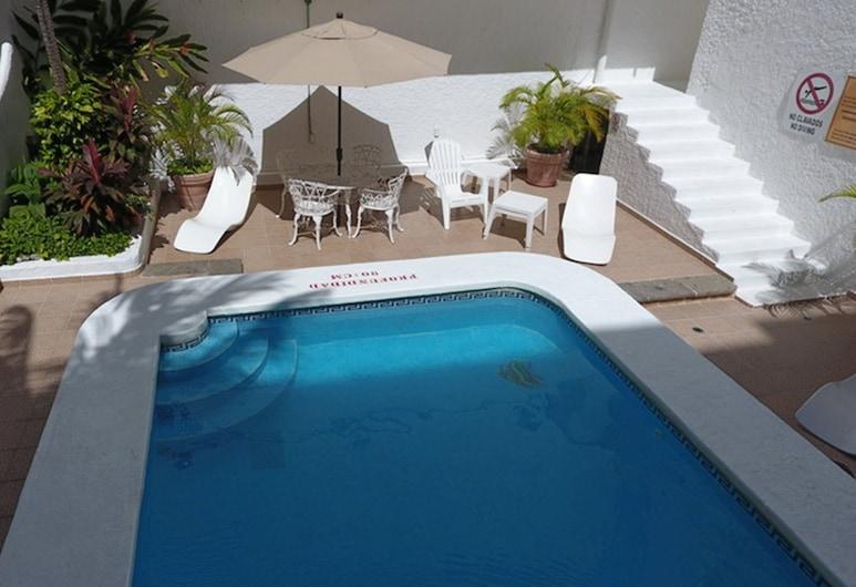 Hotel Antillano, Cancún, Standardzimmer, 1 Doppelbett, Ausblick vom Zimmer