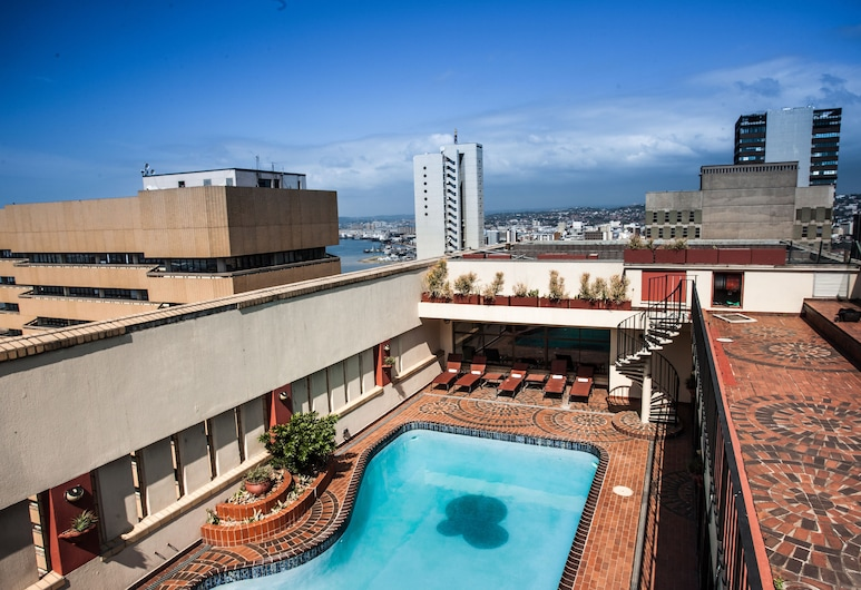 The Royal Hotel, Durban, Rooftop Pool