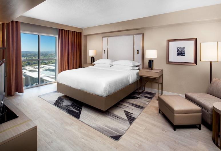 Sheraton Raleigh Hotel, Raleigh, Club soba, 1 king size krevet, pristup poslovnom salonu, Soba za goste