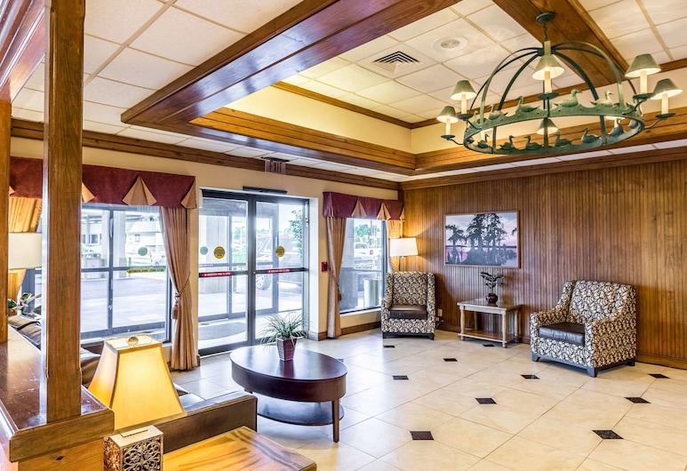 Quality Inn & Suites Baton Rouge West – Port Allen, Порт-Аллен, Фойє