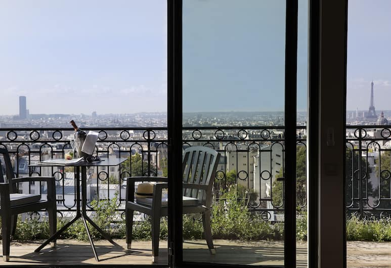 테라스 호텔 몽마르트, 파리, 펜트하우스 (Terrass), 테라스/파티오