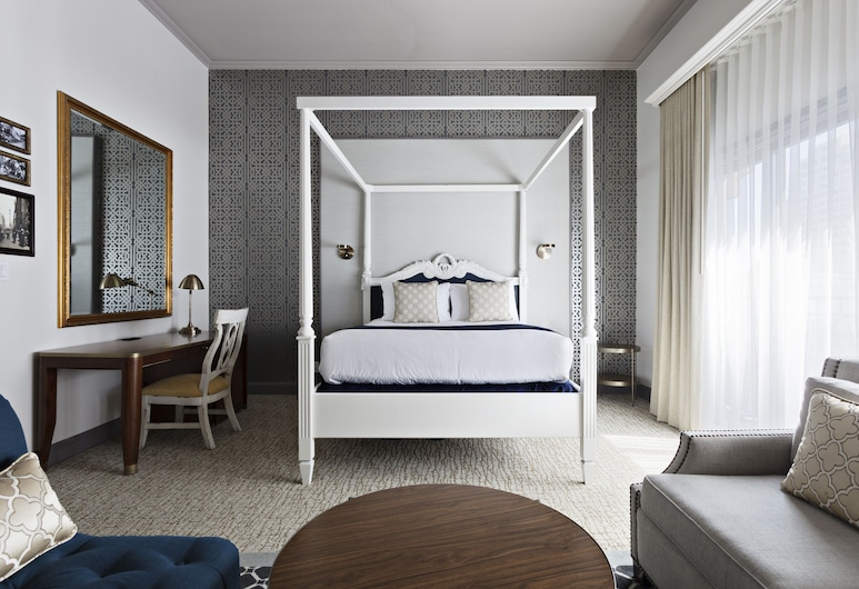 Warwick San Francisco, San Francisco, Junior Suite, 1 Queen Bed, Balcony (Fireplace), Guest Room