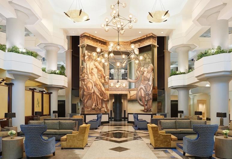 Atheneum Suite Hotel, Detroit, Lobby