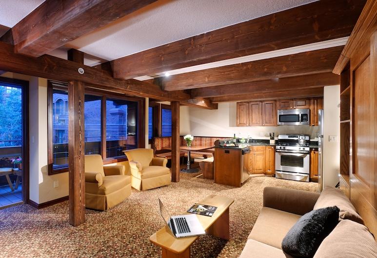 Mountain Chalet Aspen, Aspen, Apartamento, 1 habitación, Sala de estar