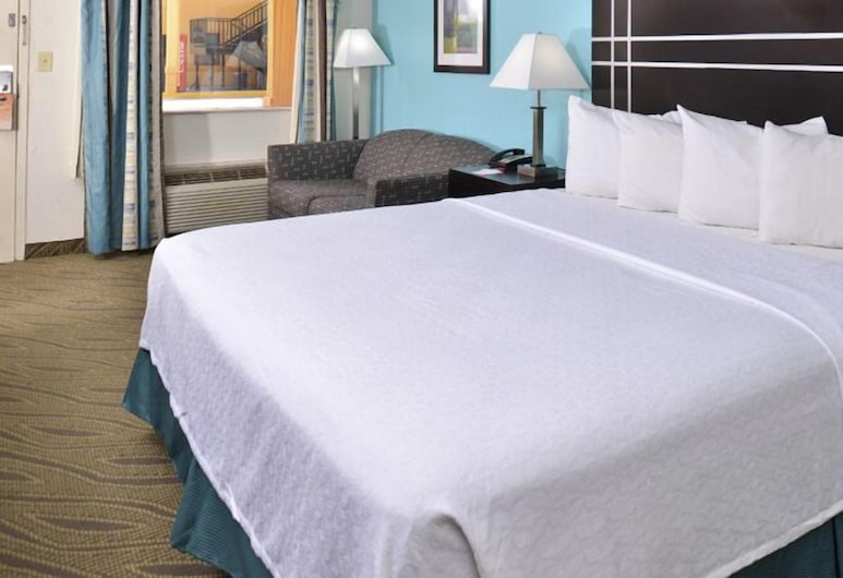 Howard Johnson by Wyndham Houston Downtown, Houston, Standard Room, 1 King Bed, Guest Room