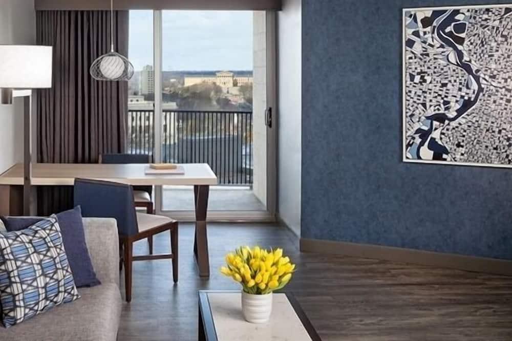 Suite, 1King-Bett und Schlafsofa (Parkway View) - Blick vom Balkon