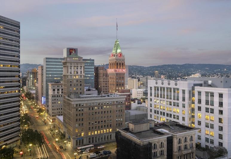 Oakland Marriott City Center, Oakland, Szoba, 1 king (extra méretű) franciaágy, kilátással a városra, Vendégszoba kilátása