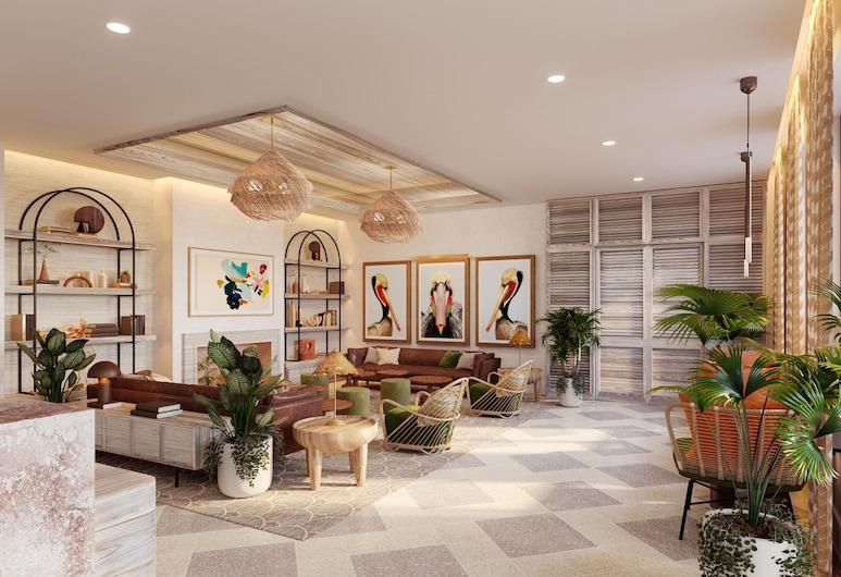 Hilton Garden Inn St. Pete Beach, St. Pete Beach, Sitzecke in der Lobby