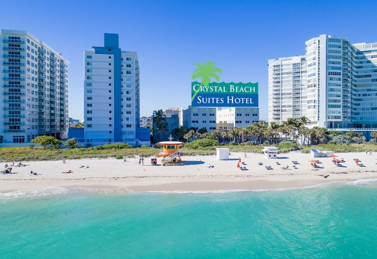 Crystal Beach Suites Oceanfront Hotel, Miami Beach, Aerial View