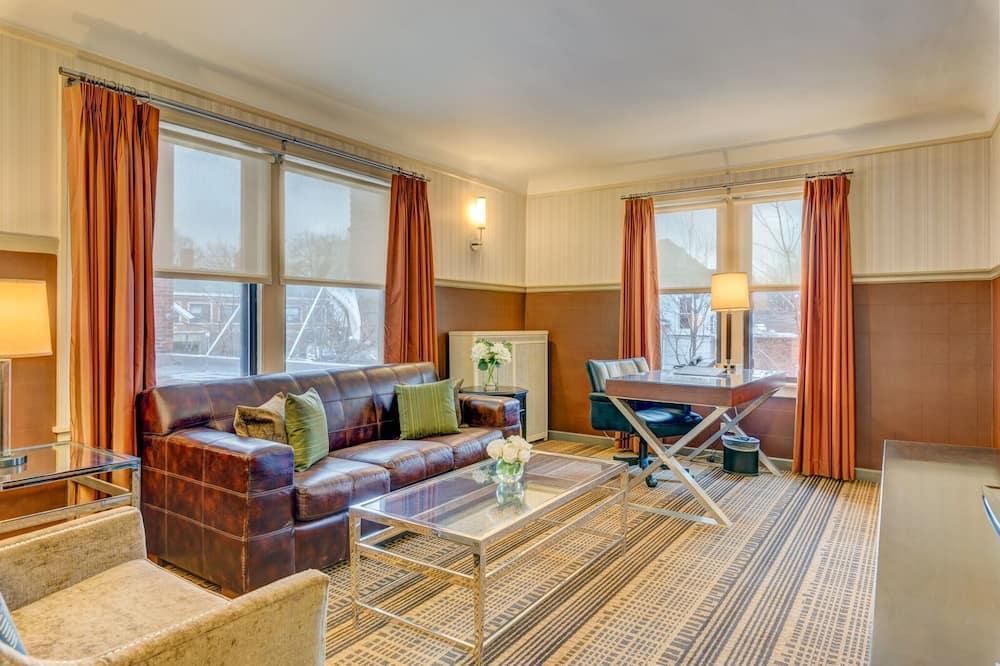 Suite Superior, 1 letto king - Area soggiorno