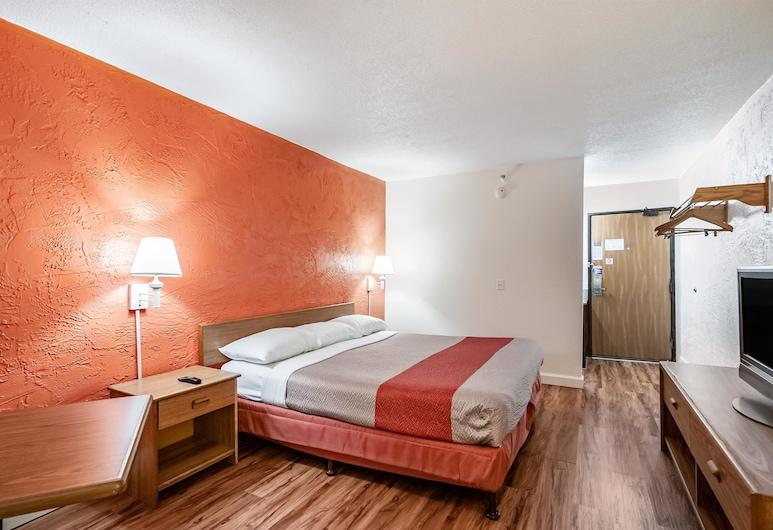 Motel 6 Naperville, IL, Naperville, Deluxe soba, 1 queen size krevet, za nepušače, masažna kada, Soba za goste