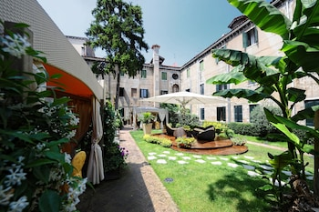 Foto av Hotel Abbazia i Venedig