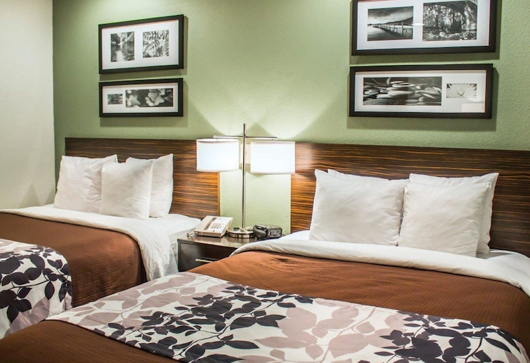 Sleep Inn Summersville, Summersville, Standardzimmer, 2Doppelbetten, Nichtraucher, Zimmer