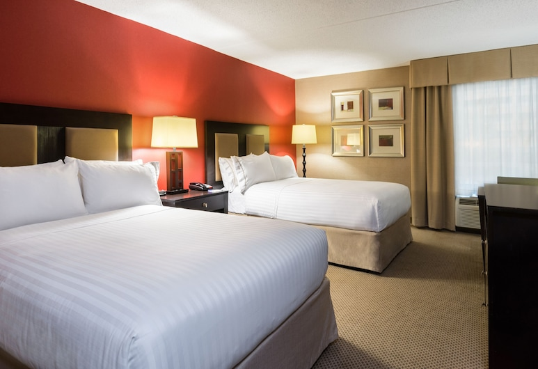 Holiday Inn Express Civic Center, צ'רלסטון, חדר, 2 מיטות זוגיות, נגישות לנכים, ללא עישון (Hearing), חדר אורחים