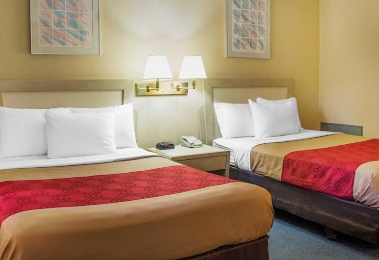 Econo Lodge Hazleton North, Drums, Quarto Duplo Standard, 2 camas de casal, Fumadores, Quarto