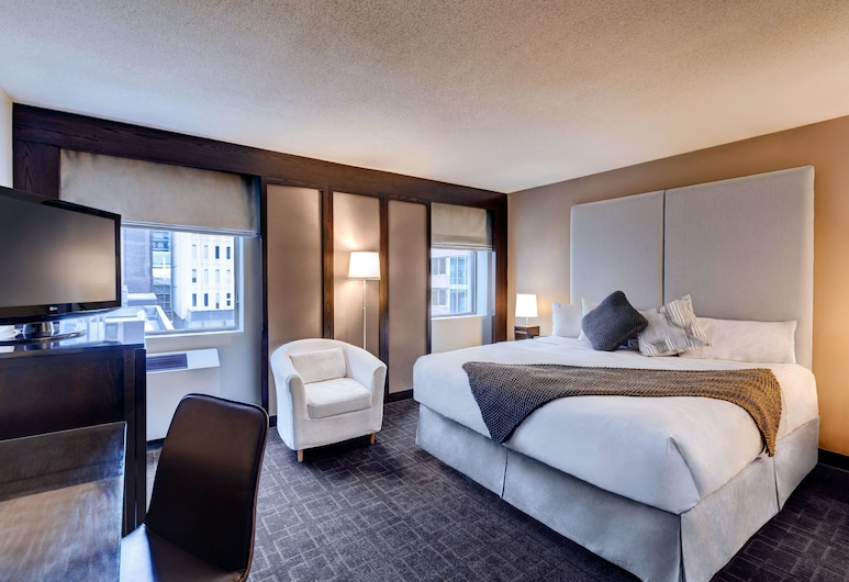 艾克酒店, 渥太華, 客房, 1 張特大雙人床 (Majestic), 客房