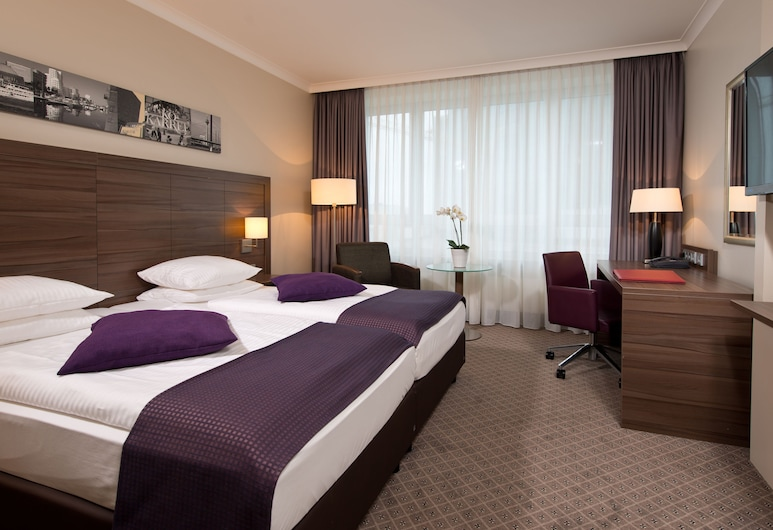 Leonardo Royal Hotel Düsseldorf Königsallee, Düsseldorf, Deluxe Δωμάτιο, Δωμάτιο επισκεπτών