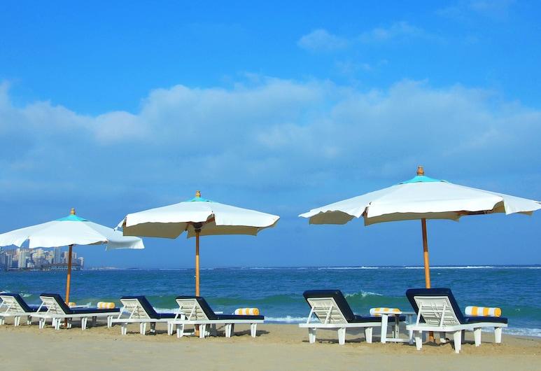 喜來登蒙塔扎飯店, 亞歷山德利亞, 海灘