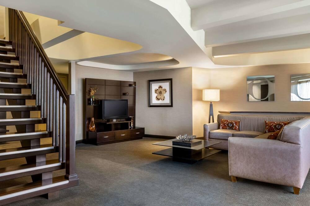 Suite, flere senger, ikke-røyk (Capitol Suite) - Oppholdsområde