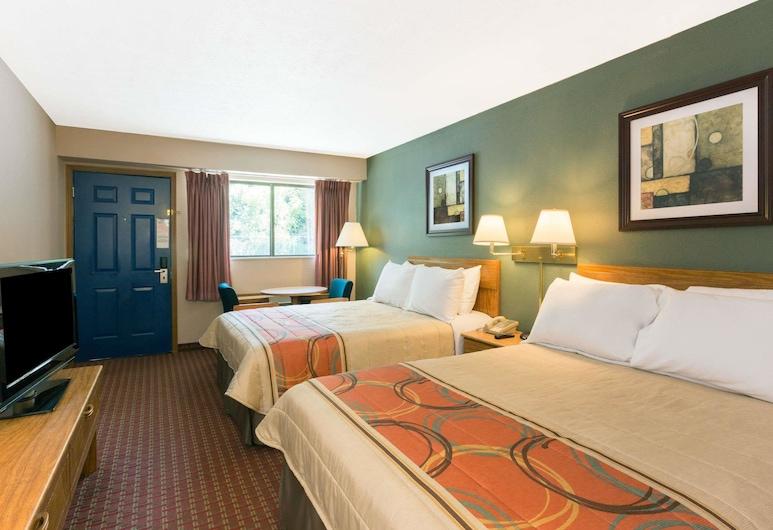 Days Inn by Wyndham Renfro Valley Mount Vernon, מאונט ורנון, חדר, 2 מיטות קווין, ללא עישון (First Floor), חדר אורחים
