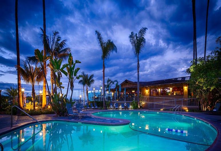 Best Western Plus Island Palms Hotel & Marina, Сан-Диего, Открытый бассейн