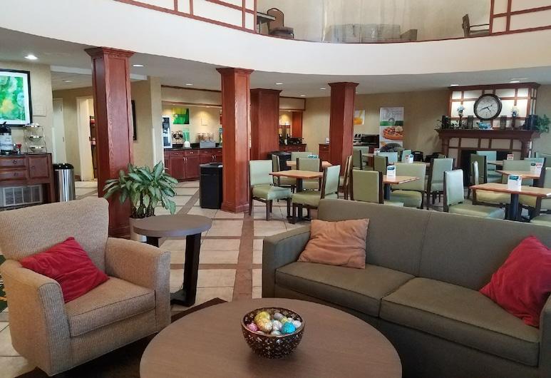 Quality Inn Indy Castleton, Indianapolis, Lounge do Lobby