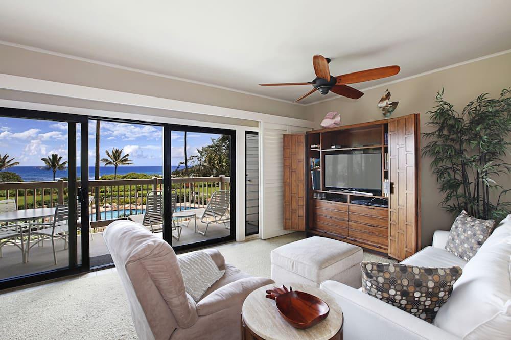 1 Bedroom, 1 Bath, Ocean View - Wohnzimmer